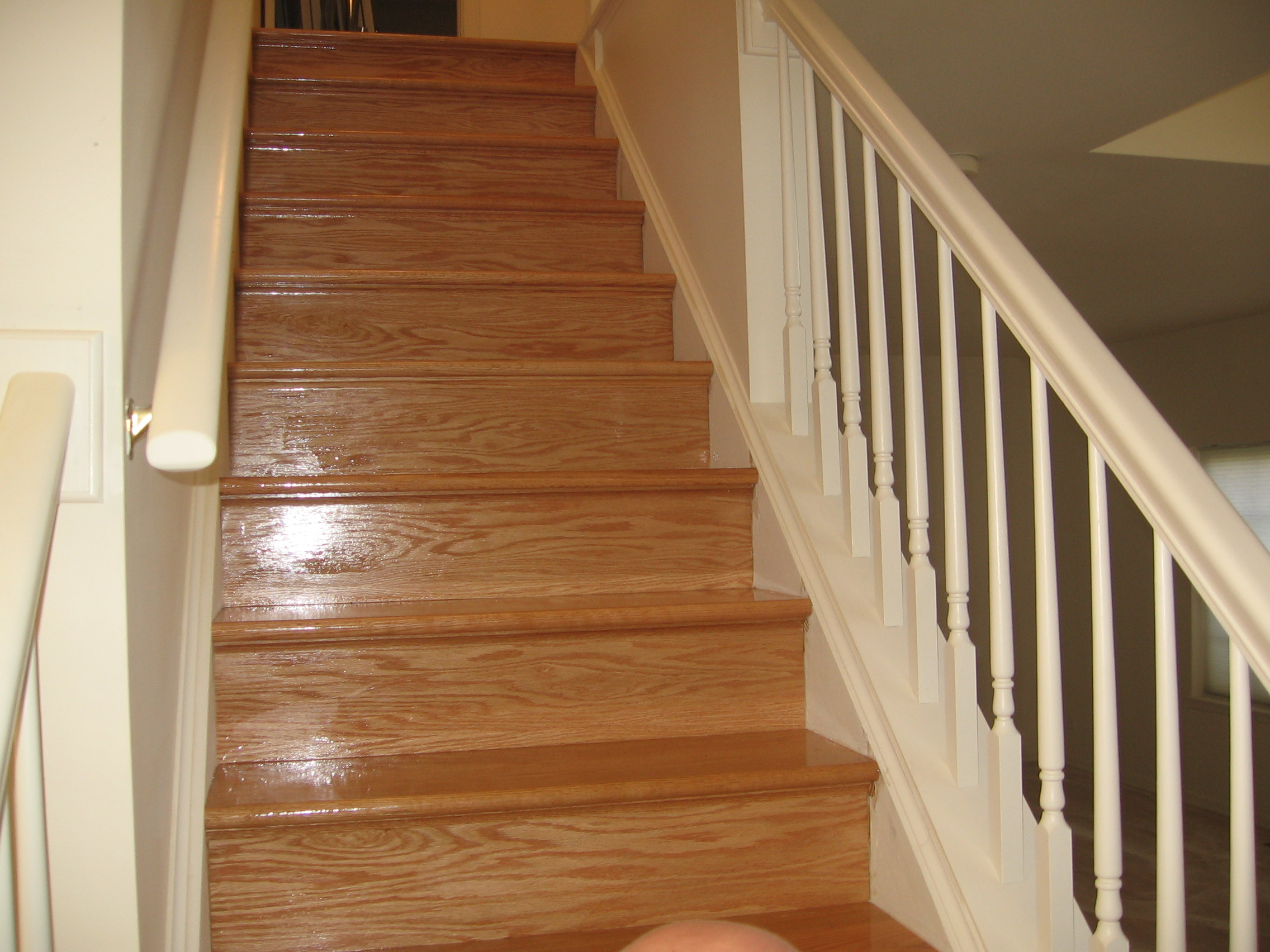 Dustless refinishing Hardwood Floors in Skokie Chicago Park Ridge